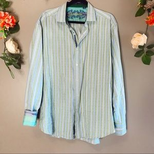 Robert Graham | Striped button up shirt